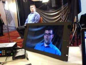 Interview in the ICV Video Studio Rental in the San Francisco Bay Area