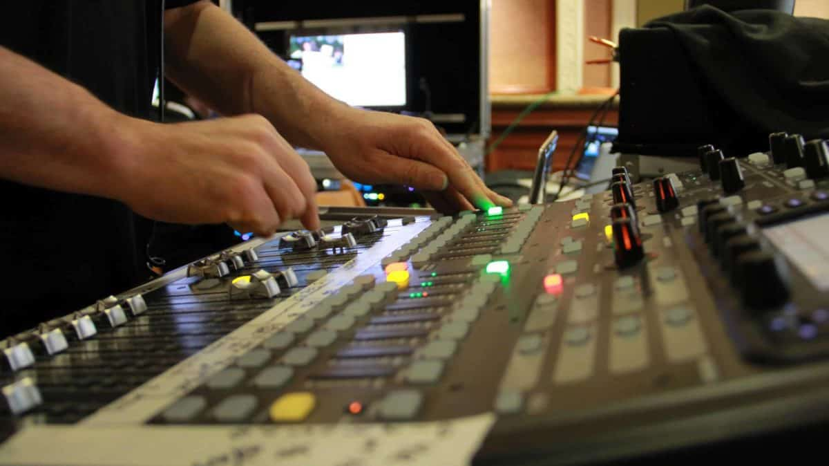 HS-450 switcher in San Francisco, San Jose Bay Area video production company, live webcasting